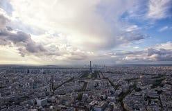 Panorama View of Paris. ,France Royalty Free Stock Image