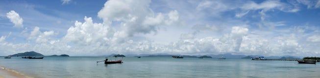 Panorama view at Pha Yam island Stock Photo