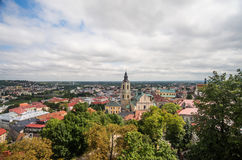 Panorama view of Przemysl Stock Photo