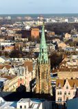Panorama view of Riga Royalty Free Stock Photography