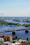 Panorama view of Riga Royalty Free Stock Image