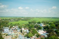 Panorama view from Sam mountain Royalty Free Stock Images