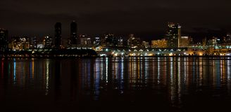 Panorama view of San Diego downtown skyline Stock Photography