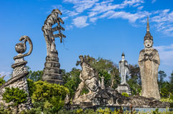 Sculpture Park - Nong Khai, Thailand Royalty Free Stock Image
