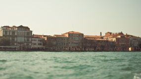 View of Venice from the sea Royalty Free Stock Photography