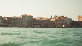 View of Venice from the sea Stock Photos