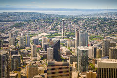 Panorama View, Seattle, Washington Royalty Free Stock Photography