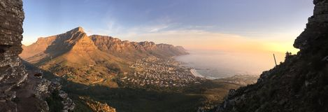 Panorama view in South Africa Royalty Free Stock Photography