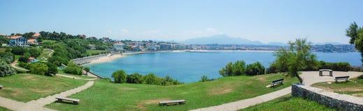 Panorama view of spanish city. Spain - Panorama view of spanish city Royalty Free Stock Image