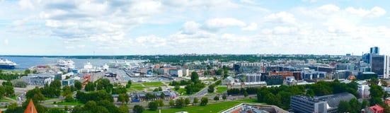 Panorama view of Tallinn Royalty Free Stock Photo