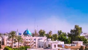 Panorama view to Baghdad, Iraq Stock Photo