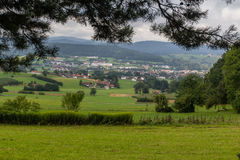 Panorama view to Koetzting Stock Photos