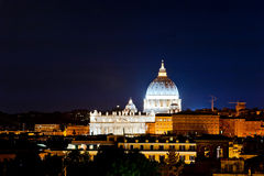 Panorama view of Vatican Royalty Free Stock Photos