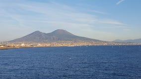Panorama view of Vesuvio Stock Photos