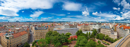 Panorama view of Vienna Stock Photography