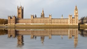 Panorama view of Westminster London Stock Photography