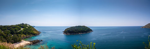 Panorama from viewpoint Yanui Stock Photography
