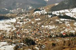 Panorama village Royalty Free Stock Photo