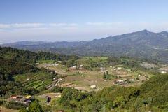 Panorama village scenery. Stock Image