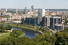 panorama Vilnius Fotografia Royalty Free