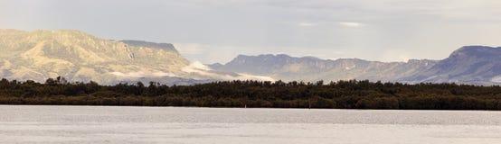 Panorama of Viti Levu Stock Image
