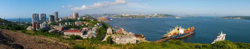 Panorama of Vladivostok. Royalty Free Stock Photos