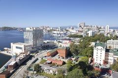 Panorama Vladivostok. Rosja Zdjęcie Royalty Free