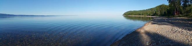 Panorama vom Baikalsee stockbilder