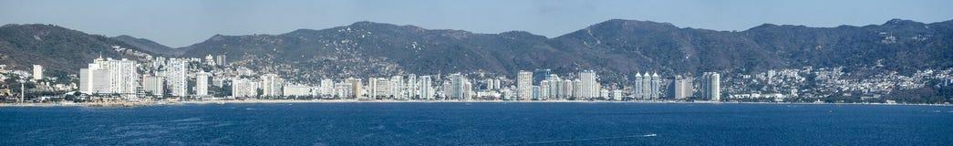 Panorama von Acapulco Stockfotografie