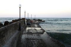 Panorama von altem Jaffa lizenzfreies stockfoto
