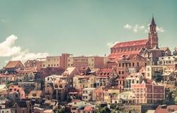 Panorama von Antananarivo lizenzfreie stockbilder