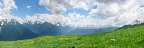Panorama von Arhiz Lizenzfreie Stockbilder