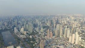 Panorama von Bangkok stock footage