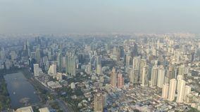 Panorama von Bangkok stock footage