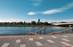 Panorama von Belgrad stockbilder