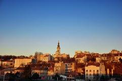 Panorama von Belgrad lizenzfreies stockbild