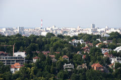 Panorama von Belgrad Stockfotos