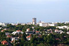Panorama von Belgrad stockfoto