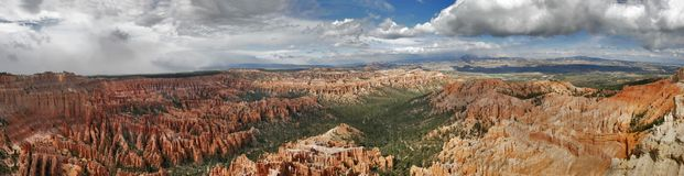 Panorama von Bryce stockbild