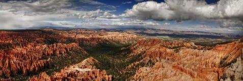 Panorama von Bryce stockfotos