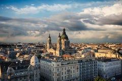 Panorama von Budapest Lizenzfreie Stockfotos