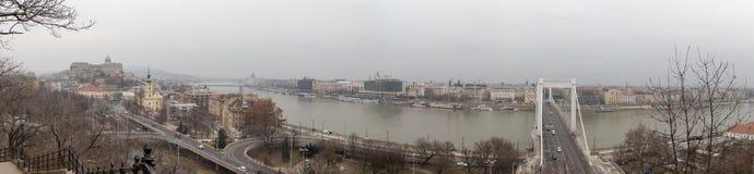 Panorama von Budapest Stockfoto