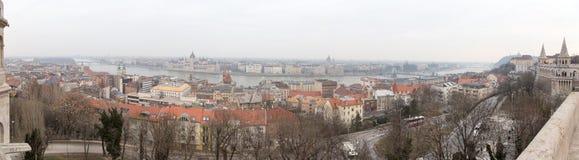 Panorama von Budapest Lizenzfreie Stockfotografie