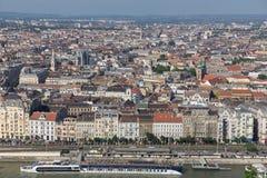 Panorama von Budapest, Ungarn Lizenzfreies Stockfoto