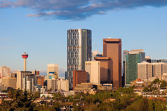 Panorama von Calgary Stockfotos