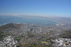 Panorama von Cape Town lizenzfreies stockbild