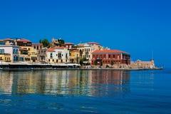 Panorama von Chania, Kreta, Griechenland Lizenzfreies Stockfoto