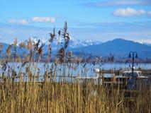 Panorama von der Insel von Frauen Lizenzfreie Stockfotos