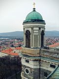 Panorama von Esztergoms-Kathedrale Lizenzfreie Stockfotos