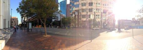 Panorama von Finanz-District_3 Stockfotografie